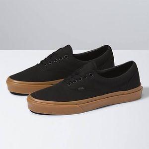 Vans Gum Era classic low top lace-up skate shoes
